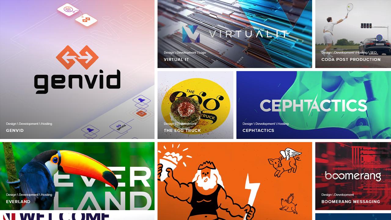 Creative Brand Design - Portfolio Page